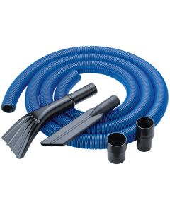Dust Right® 12' Heavy-Duty Shop Vacuum Hose Kit