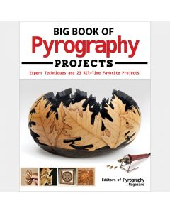 Big Book of Pyrography Projects, Paperback