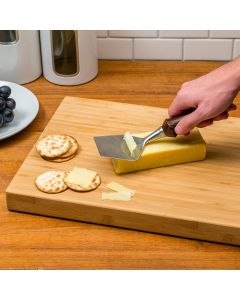 Peel off shavings of the finest cheeses using a custom plane with a handle turned from the material of your choice!