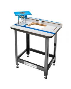 Router table packages rockler woodworking and hardware rockler high pressure laminate router table fence stand and fx router lift greentooth Gallery