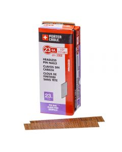 """1/2"""" Porter-Cable Pin Nails 23 Gauge (2000 per Pack)"""