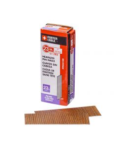 """1"""" Porter-Cable Pin Nails 23 Gauge (2000 per Pack)"""