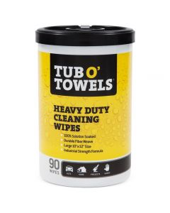 Tub O' Towels Heavy-Duty Multi-Surface Cleaning Wipes, 10'' x 12'', 90-Pack