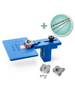 Corner Key Doweling Jig with Set of 3 Drill Bits
