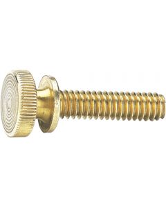 Decorative Solid Brass Knurled Knobs-Select size
