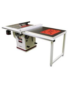Jet® Deluxe Xacta 5HP 10'' Table Saw w/50'' Fence, Downdraft Table, & Leg Set
