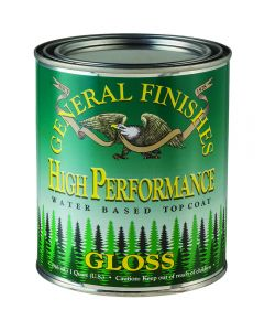 General Finishes EF High Performance Polyurethane Top Coat-Gloss