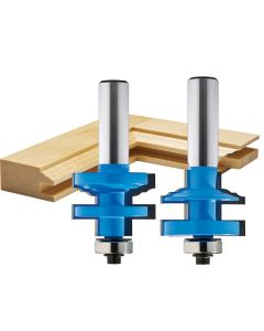 "Rockler Classical Stile and Rail Router Bit - 1-3/8"" Dia x 1"" H x 1/2"" Shank"