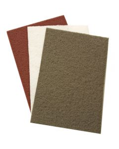 Synthetic Finishing Pads, 3-Pack