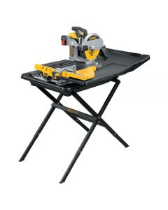 Dewalt D24000S Heavy-Duty 10'' Wet Tile Saw with Stand