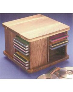 Compact Disc Holder Downloadable Plan