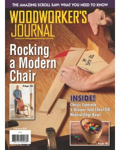 Woodworker's Journal – January/February 2018