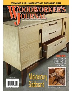 Woodworker's Journal – September/October 2017