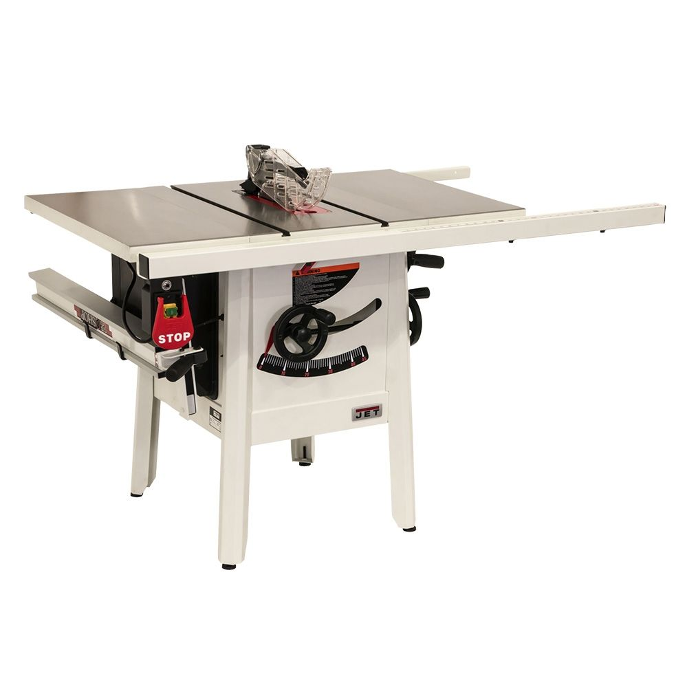 Jet 174 Proshop Ii Table Saw With Cast Wings 115v 30 Rip