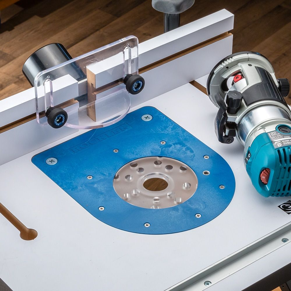 Compact Router Insert Plate Kit For Convertible Benchtop