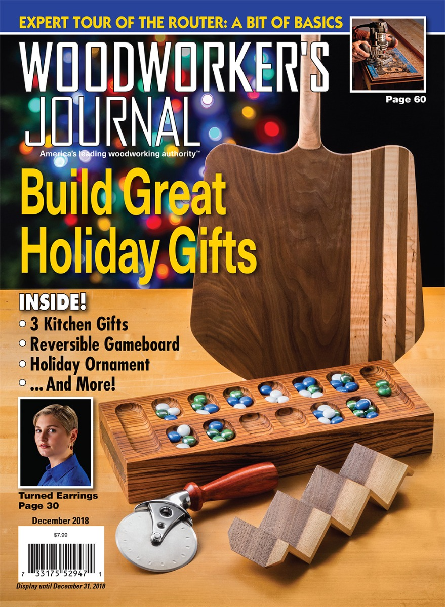 Woodworker's Journal - November/December 2018