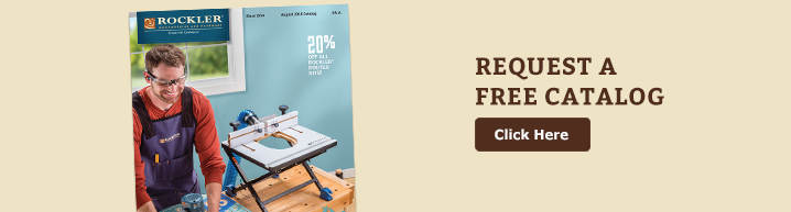 Request a free Rockler catalog