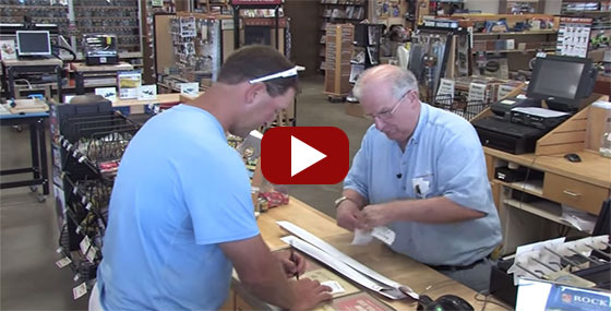 Larry on working at the retail Rockler Woodworking and Hardware Store