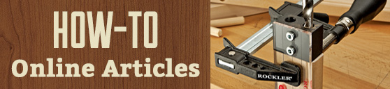 How-To Online Woodworking Articles