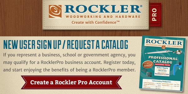Rockler's School Discounts