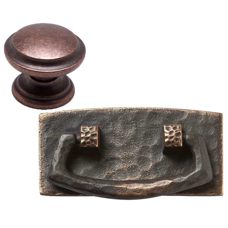 Copper Knobs and Pulls