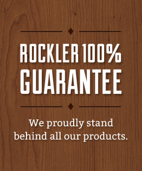 Rockler 100% Guarantee