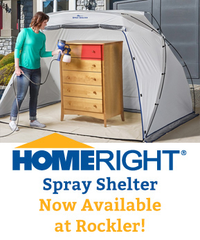 HomeRight Spray Shelter now available at Rockler!