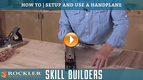 How to Set Up and Use a Hand Plane