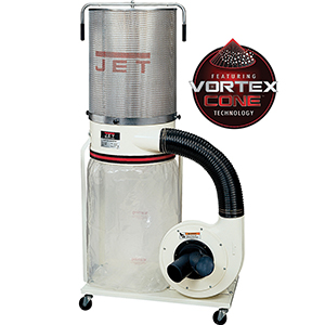 Jet dust collection