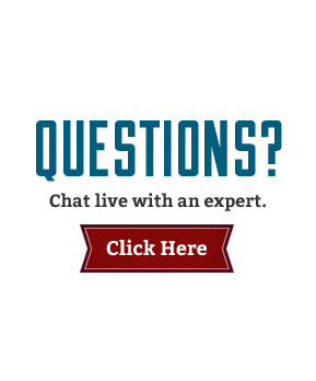 Questions? Chat live with an expert.