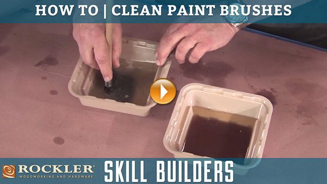 How to Clean a Paint Brush