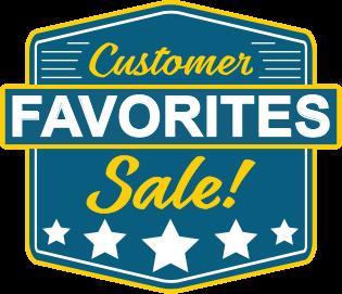 Customer favorites sale