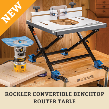convertible benchtop table