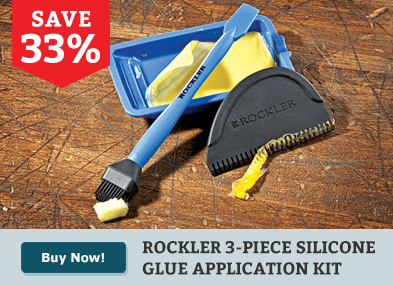 Rockler 3-Pc. Silicone Glue Application Kit