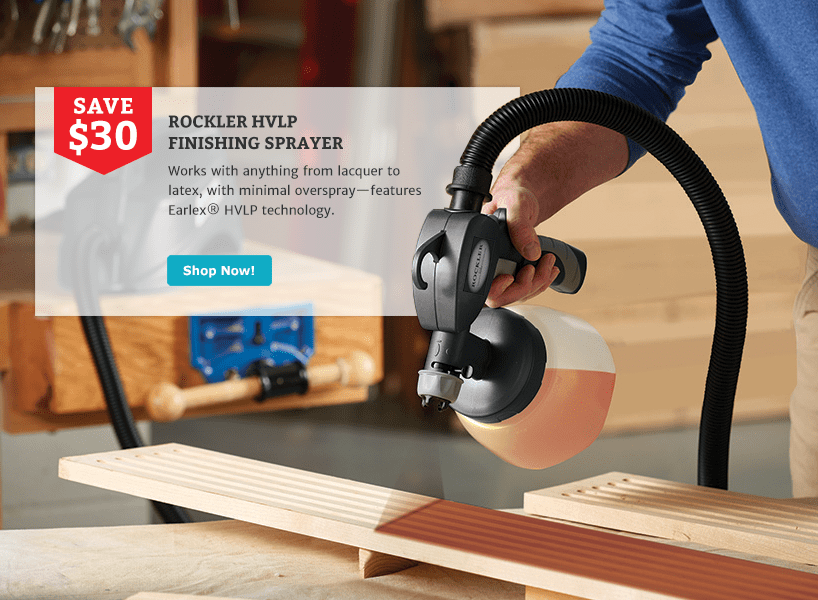 Rockler HVLP Sprayer
