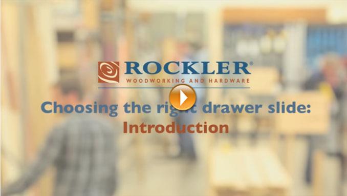 Choosing the Right Drawer Slide