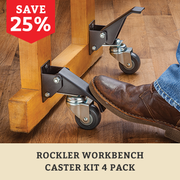 workbench caster kit