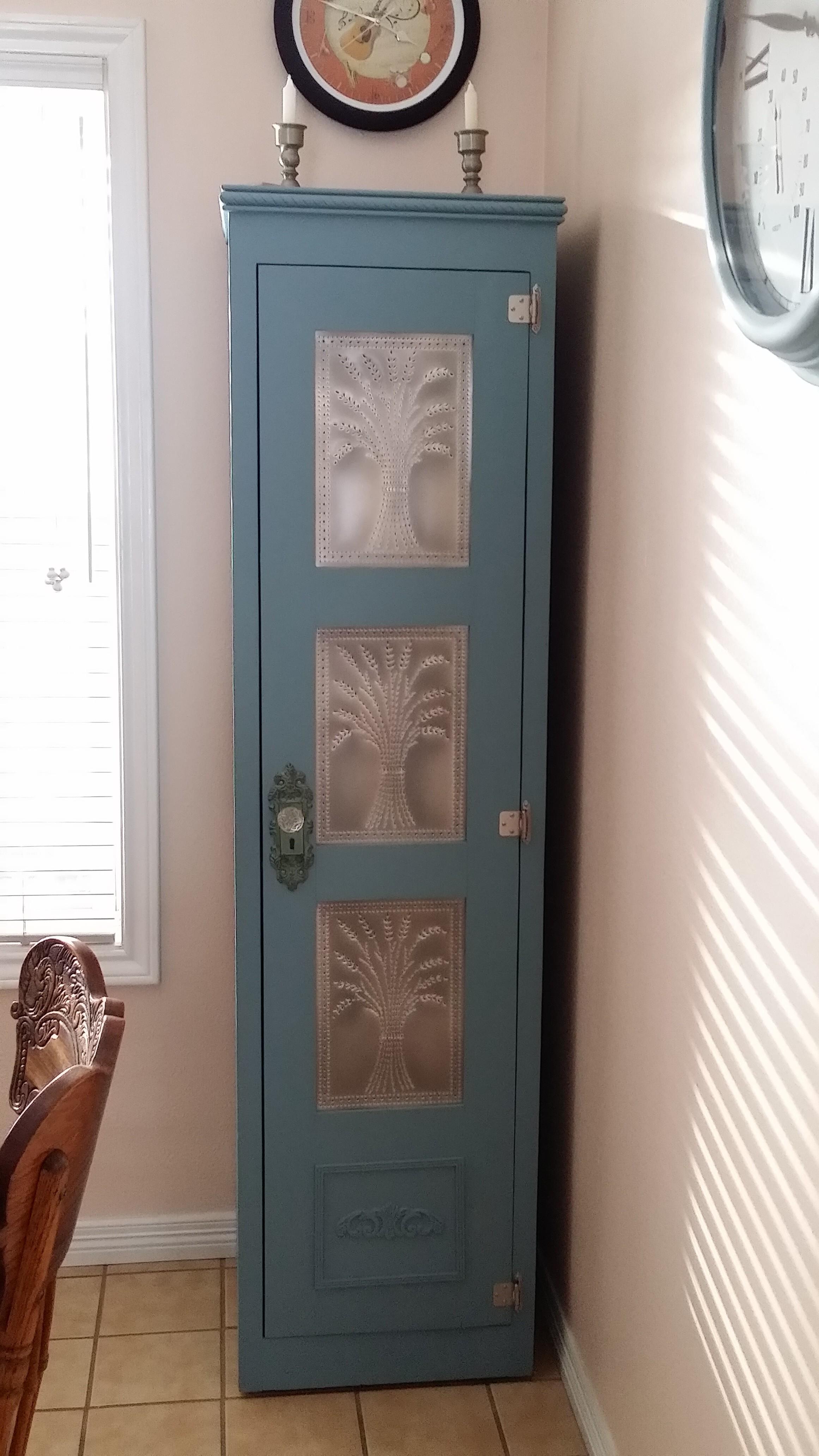 Pie Tin Cabinet
