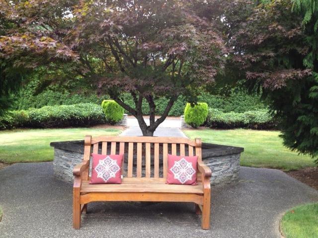 Beautiful bench.