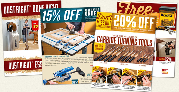 Sign up to receive Rockler promotions in your inbox.