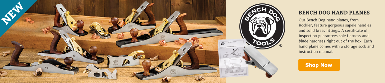 New Bench Dog Hand Planes
