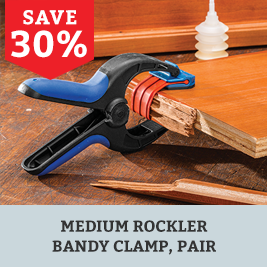 Save on Medium Rockler Bandy Clamps
