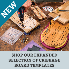 New Cribbage Board Templates