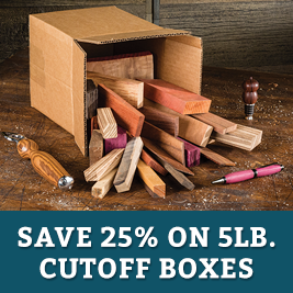 SAve on 5 lb cutoff Boxes