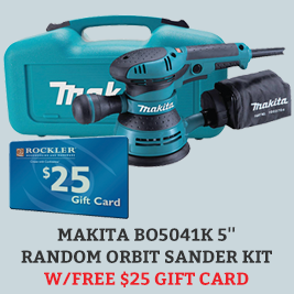 Free Gift Card with Makita