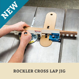 Rockler Crosslap Jig