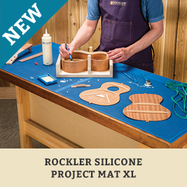 Rockler Silicone Project Mat XL