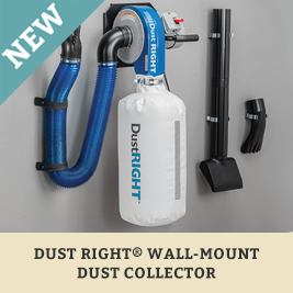 Dust Right Wall Mount