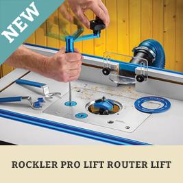 Rockler Pro Lift Router Lift