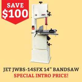 Jet bandsaw